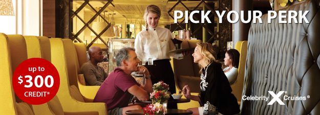 Celebrity Cruises - Pick Your Perk!