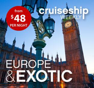 CruiseShipWeekly - Europe & Exotic